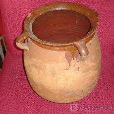 Antigüedades: VASIJA DE BARRO. Lote 27248879