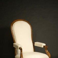 Antigüedades: SILLON VOLTAIRE. Lote 10118172