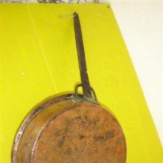 Antigüedades: SARTEN DE COBRE ANTIGUA. Lote 10207265