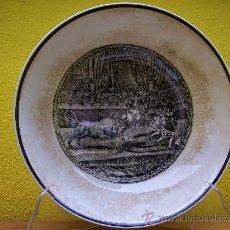 Antigüedades: ENSALADERA.TOROS. MARIANO POLA. GIJON. Lote 27147048