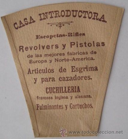 Antigüedades: INTERESANTE VASO DE BOLSILLO-PUBLICITARIO DE UNA ARMERIA DE BUENOS AIRES.. ENVIO GRATIS¡¡¡¡ - Foto 2 - 26536496