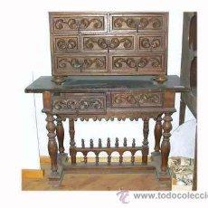 Bargue os antiguos muebles todocoleccion - Herrajes muebles antiguos ...
