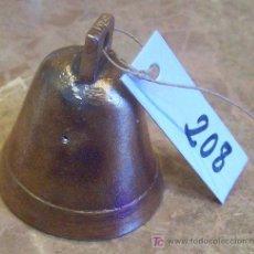 Antigüedades: ANTIGUA CAMPANILLA DE BRONCE. Lote 27435943