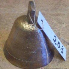 Antigüedades: ANTIGUA CAMPANILLA DE BRONCE. Lote 27435958