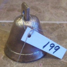 Antigüedades: ANTIGUA CAMPANILLA DE BRONCE. Lote 27470903