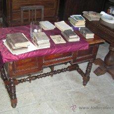 Antigüedades: ANTIGUA MESA DE CASTAÑO. Lote 25792259