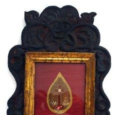 Antigüedades: RELICARIO - S. XIX - PIEZA RARA. Lote 27615463