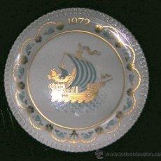 Antigüedades: PLATO NAVIDAD ,, DE 20 CMS, SPODE, DE INGLATERRA. Lote 27184795