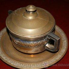 Antigüedades: AZUCARERO METAL REF. 3610. Lote 10425750