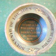 Antigüedades: ANTIGUO SOUVENIR DE LOURDES. Lote 120277728