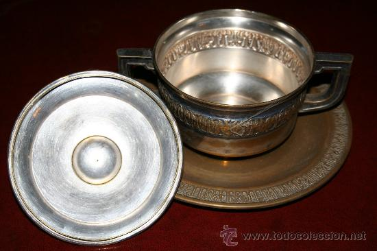 Antigüedades: AZUCARERO METAL ref. 3610 - Foto 2 - 10425750