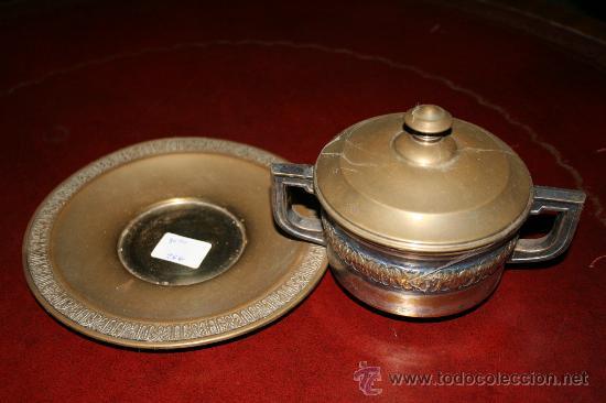 Antigüedades: AZUCARERO METAL ref. 3610 - Foto 3 - 10425750
