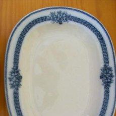 Antigüedades: GRAN BANDEJA DE PORCELANA ALEMANA. VILLEROY BOCH. WALLERTANGER.. Lote 26677231