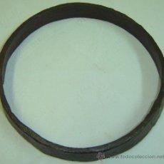 Antigüedades: ARO ANTIGUO DE RUEDA DE CARRO EN FORJA DIAM. INT. 20 CMS. DIAM. EXT. 21,5 CMS. ALTO 3,5 CMS.. Lote 10512840