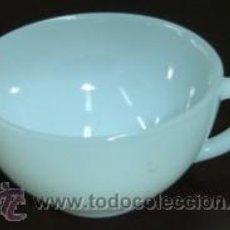 Antigüedades: TAZA DE CAFE ANTIGUA - ARCOPAL TRASLUCIDO. Lote 10514603