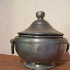 Antigüedades: SOPERA DE ESTAÑO. Lote 26848469