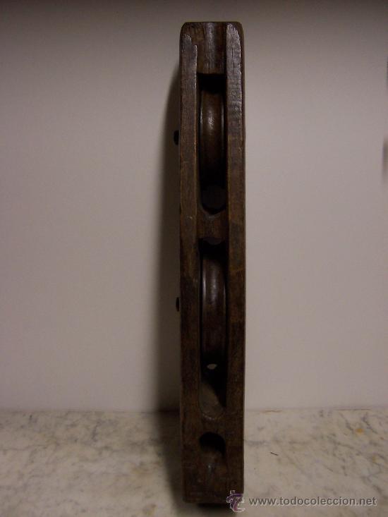 Antigüedades: CENTENARIA TROCOLA EN MADERA DE ROBLE, DISPONGO DE OTRA IGUAL - Foto 2 - 26054743