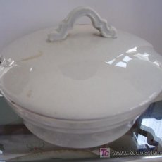 Antigüedades: SALSERA PEQUEÑA CHINA OPACA SANTANDER. Lote 10611217
