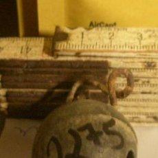 Antigüedades: CASCABEL. Lote 10598449