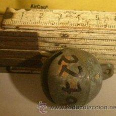 Antigüedades: CASCABEL. Lote 10598527