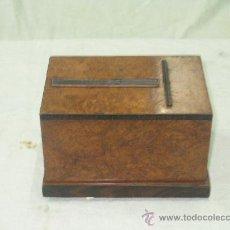 Antigüedades: CAJA CIGARRERA.ART DECO. Lote 25663747