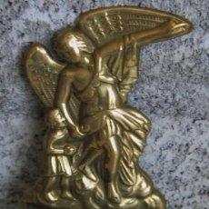 Antigüedades: BENDITERA DE BRONCE . Lote 18359240