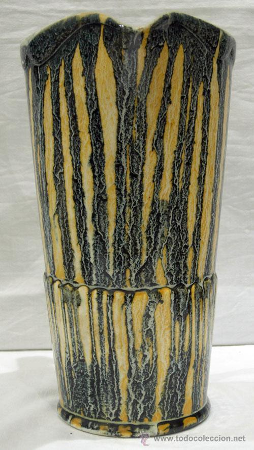 Antigüedades: Jarra cerámica vidriada colores años 50 - Foto 2 - 10716894