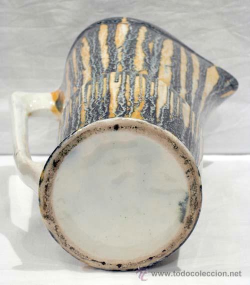 Antigüedades: Jarra cerámica vidriada colores años 50 - Foto 6 - 10716894