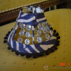 Antigüedades: PANTALLA DE CEBRA. Lote 26646634