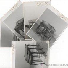 Antigüedades: 5 FOTOGRAFIAS JUEGOS DE MESAS MUESTRARIO MUEBLES MADERA DECORACION EBANISTA CARPINTERO. Lote 10908453