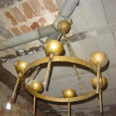 Antigüedades: LAMPARA RUSTICA . Lote 10958300