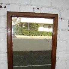 Antigüedades: ESPEJO DE CAOBA. Lote 10958641