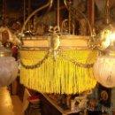 Antigüedades: EXPECTACULAR LAMPARA DEL SIGLO XIX. Lote 26856632