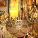 Antigüedades: EXPECTACULAR LAMPARA ANTIGUA. Lote 27419164
