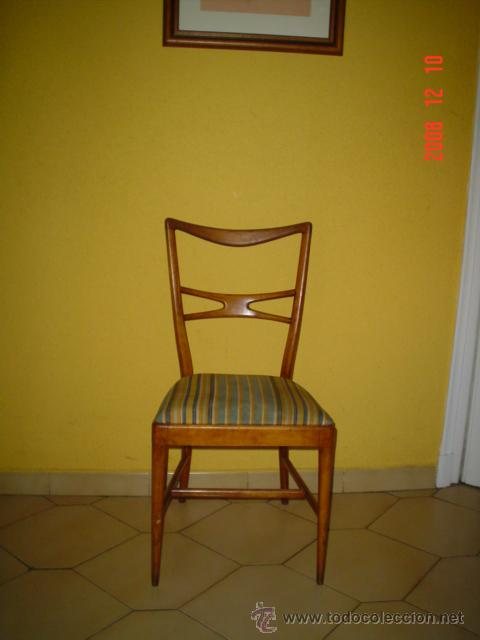 SILLA NORDICA (Antigüedades - Muebles Antiguos - Sillas Antiguas)
