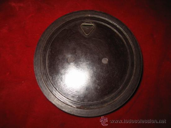 Antigüedades: ANTIGUO MARCO REDONDO DE BAQUELITA - Foto 2 - 12092829