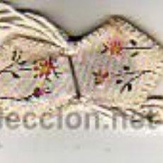 Antigüedades: MINI ESCAPULARIO DE ROPA -PINTADA. Lote 11195694