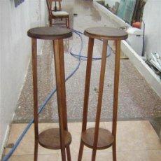 Antiquités: PAREJA DE PEANAS. Lote 11356994