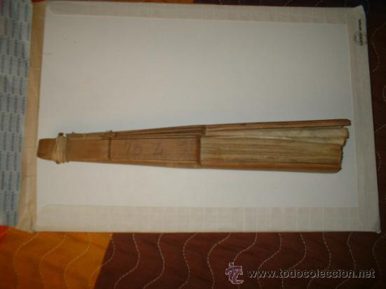 Antigüedades: abanico antiguo - Foto 3 - 26734859