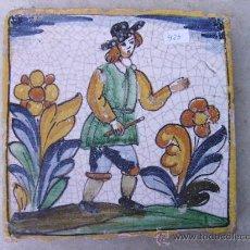 Antigüedades: AZULEJO CATALAN -EPOCA 1900- . Lote 18750400