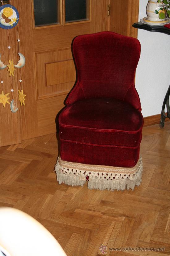 Antiguo sillon para dormitorio a os 70 descalza vendido - Sillon para dormitorio ...