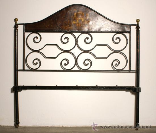 Cabecera hierro forjado comprar camas antiguas en todocoleccion 11450590 - Camas de hierro antiguas ...