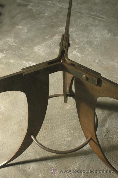 Antigüedades: MESA HIERRO Y CRISTAL - Foto 5 - 11450637