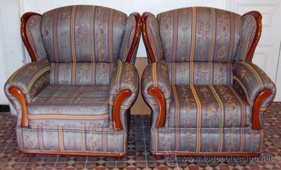 V202 dos preciosos sillones orejeros tapizad comprar for Sillones orejeros tapizados