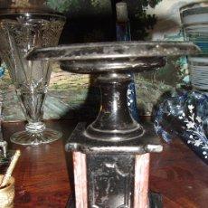 Antigüedades: PEANA REPISA GUARNICIÓN RELOJ. Lote 27081230