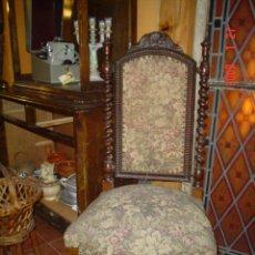 Antigüedades: PAREJA DE SILLAS SIGLO XIX, CRIN DE CABALLO. Lote 26880776