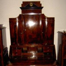 Antigüedades: GRAN BUREAU CABINET BIEDERMEIER . Lote 26237997