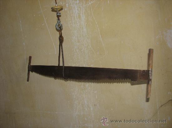 Antiguo serron o sierra de le adores para el co comprar for Sierra de cortar