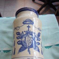 Antigüedades: BOTE FARMACIA NUEZ DE COLA. Lote 22383867