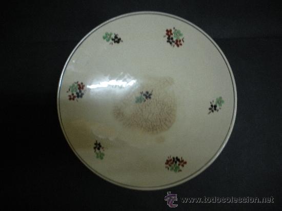 Antigüedades: ANTIGUO FRUTERO DE SAN JUAN DE AZNALFARACHE, MEDIDAS 20 CM.DIAMETRO - Foto 4 - 26312019